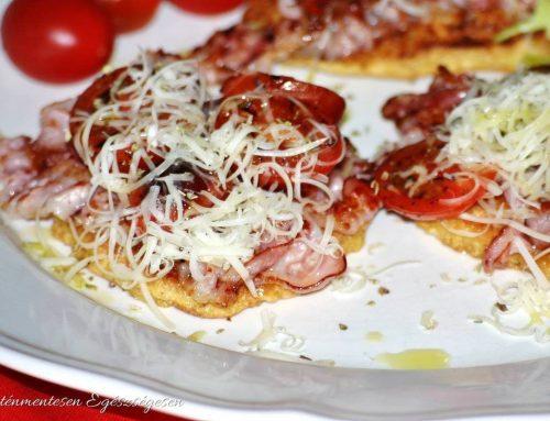 Baconös sajtos szendvics