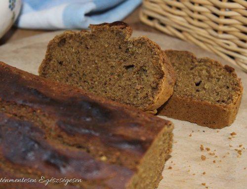 Barna kenyér teffliszttel